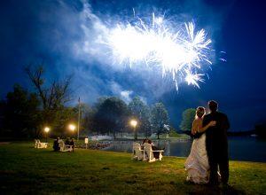 Comwell kellers park : Bryllups Fyrværkeri